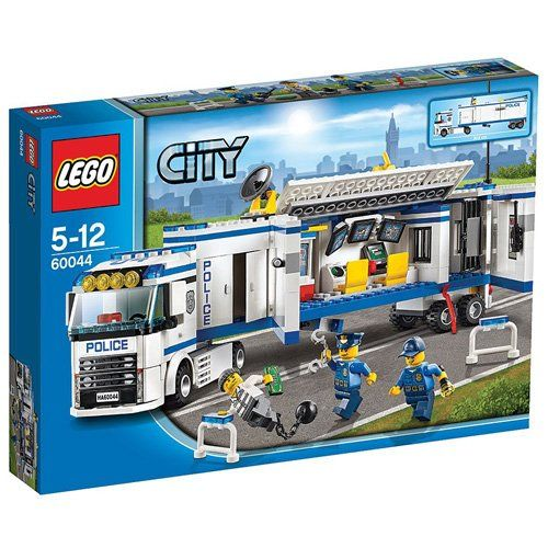 LEGO City Mobile Police Unit Control Room Truck with 3 Minifigures | 60044 ** You can find more details by visiting the image link.