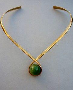 Ole Lynggaard gold torque collar