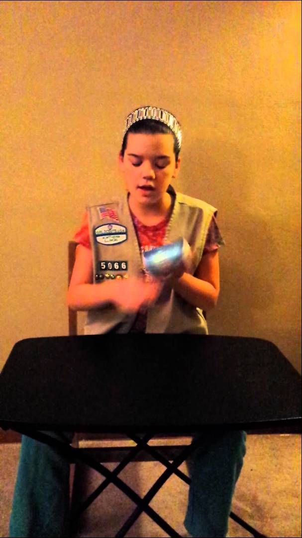 Girl Scout Cookie Cup Song - Cute, want to share with my troop! :-)