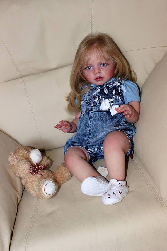 Reborn baby doll  Alisa  kit Isabella