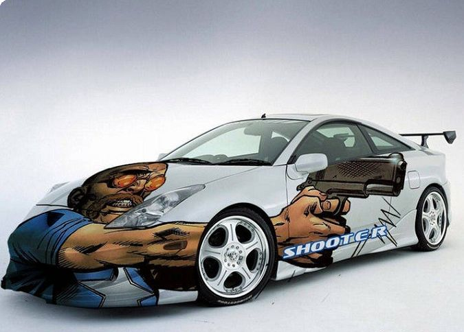 Best Creative Car Wrap Designs Images On Pinterest Vehicle - Graphics for car