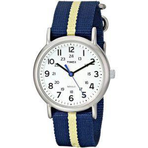 Timex Unisex Weekender Silver-Tone Watch