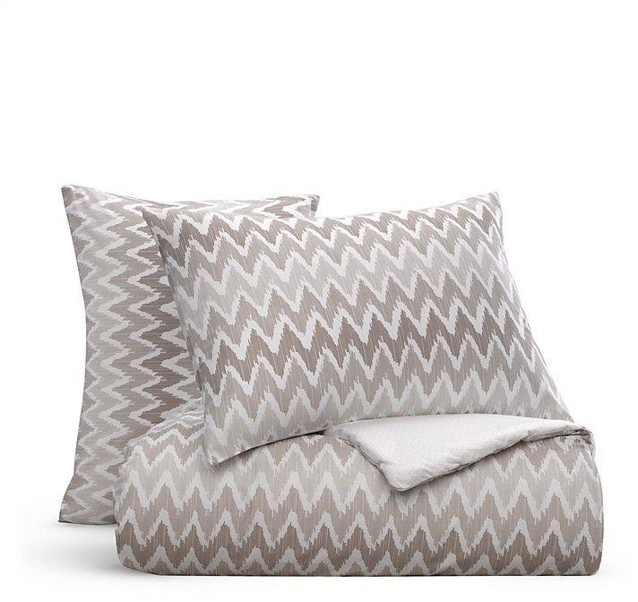 Bloomingdale's Essentials Chevron Comforter Set, Queen - 100% Exclusive