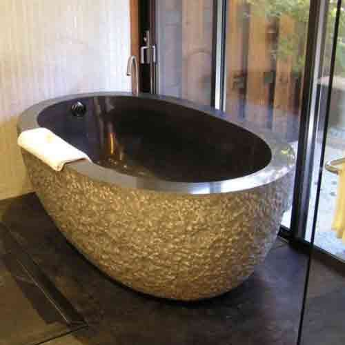 shop the best selection of stone bathtubs online including granite and marble tubs - Bathroom Tubs