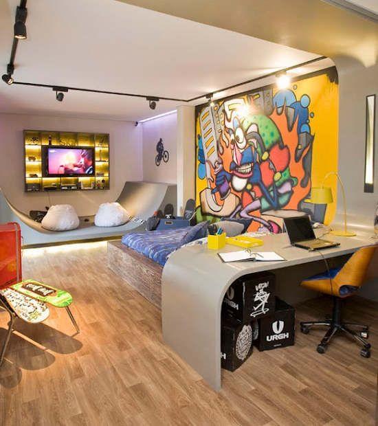 65 best images about skateboard on pinterest sport atv for Boys skateboard bedroom ideas