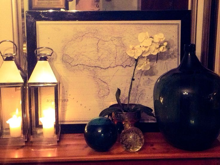 Earth Maps in a home awakens your Traveling Spirit, specially when Old