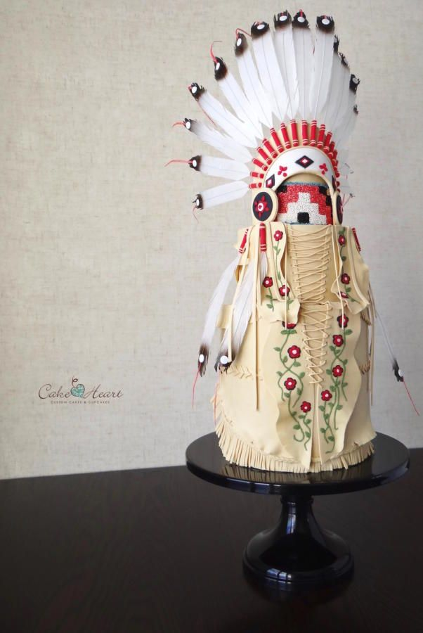 Native American Headdress - Cake by Cake Heart