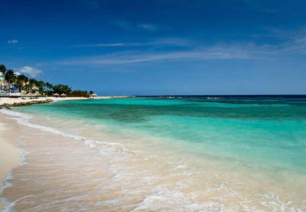 Playa privada en Curazao, Caribe