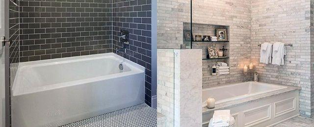 Top 60 Best Bathtub Tile Ideas Wall Surround Designs Best