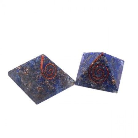 Lapiz Lazuli Orgone Energy Pyramid