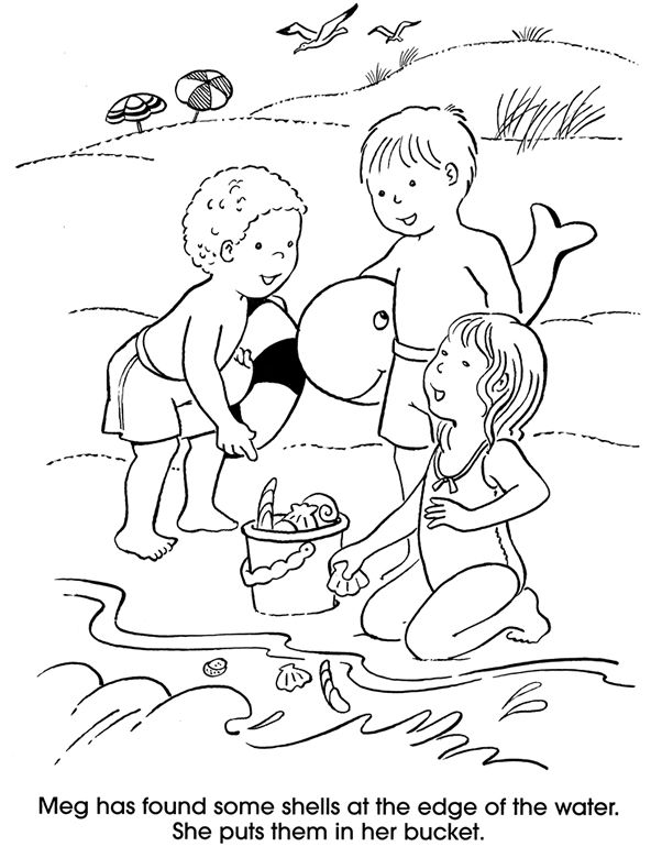 Welcome to Dover Publications  At the Beach