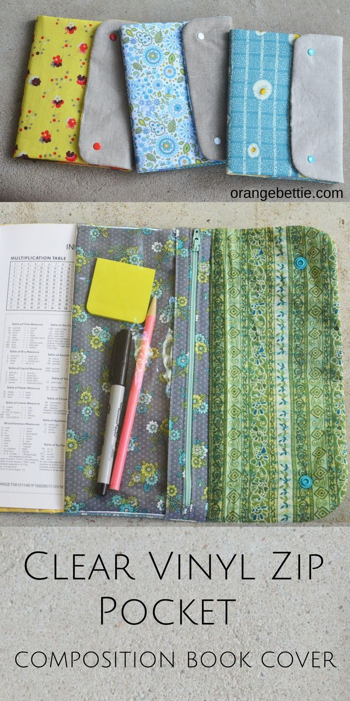 Book Cover Sewing Zip Code : Best composition books images on pinterest