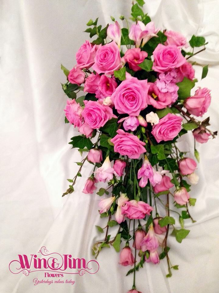 Fresh bridal shower bouquet