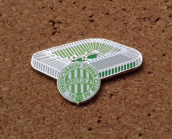 Ferencvaros - Groupama Arena Pin/Badge