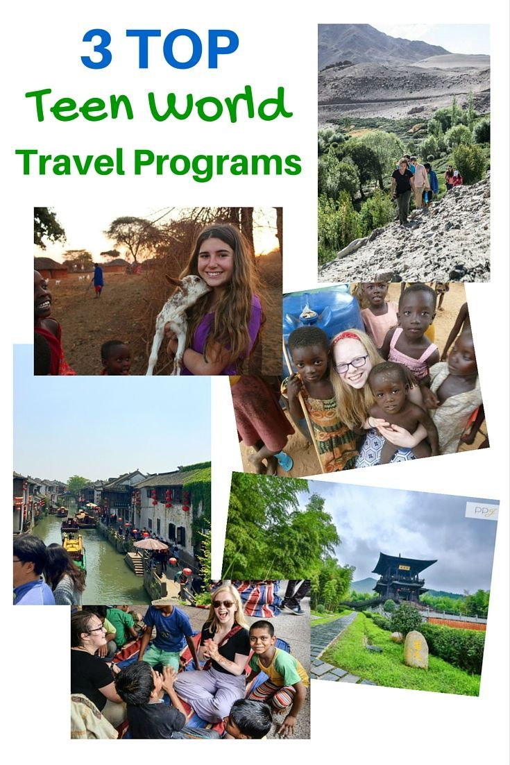 Top 3 Summer Teen Travel Programs @TravelingMom