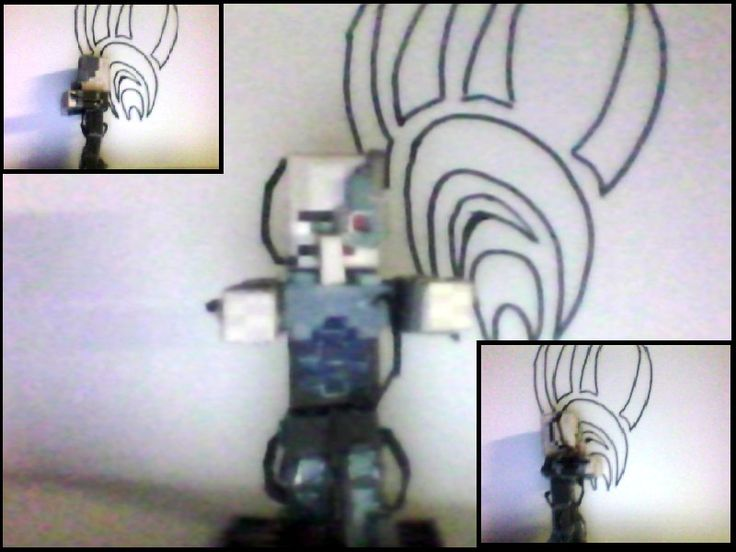 Papercraft assimilated villager borg HARD