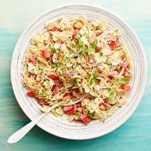 Pasta Salad with Tomato and Basil - 4 points  Add Grilled or Rotisserie Chicken to make it a meal
