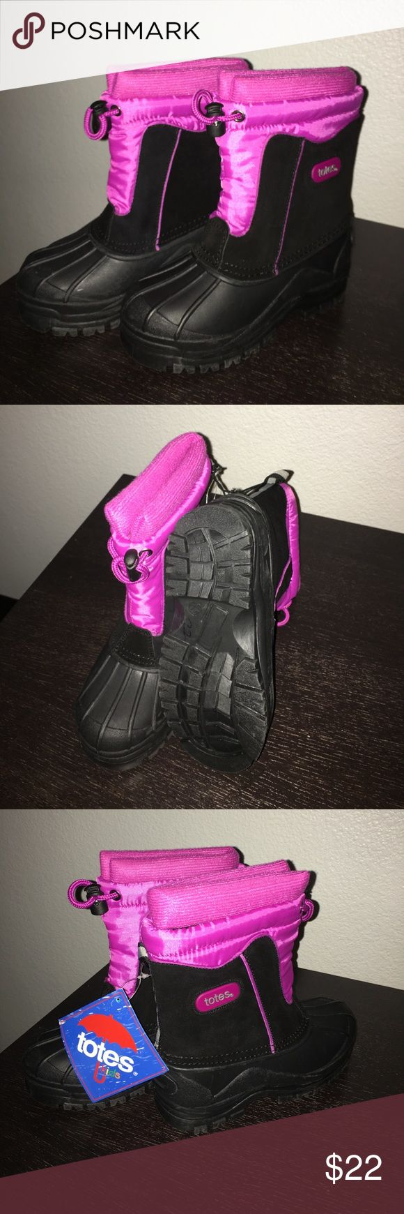 New kids boots for sale New kids boots for sals with tags. Please let me know if you have an offer :) Totes Shoes Rain & Snow Boots