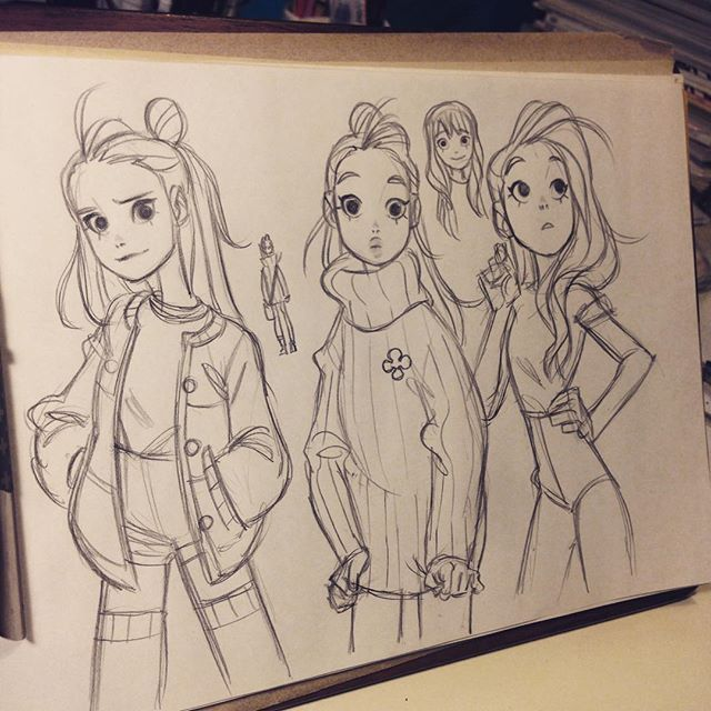 Instagram media by anna_cattish - #sketching