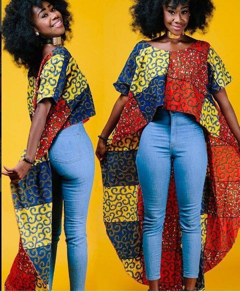 Top Ten Beautiful And Creative Ankara Styles For Beautiful Women | Dabonke