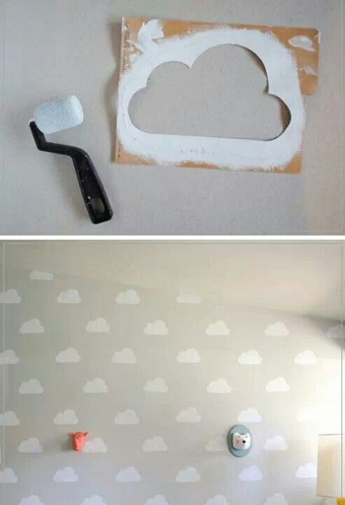 Paint stencil making patterns easier