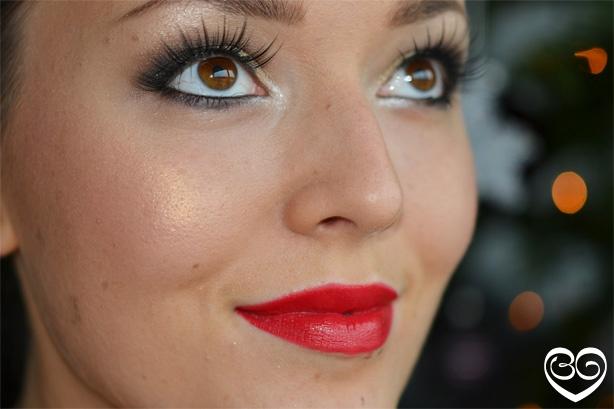 Filmpje: Kerst feest make-up look maar de ogen zijn ook gewoon mooi voor andere gelegenheden