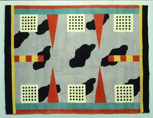 memphis, nathalie du pasquier, tapis, 1983