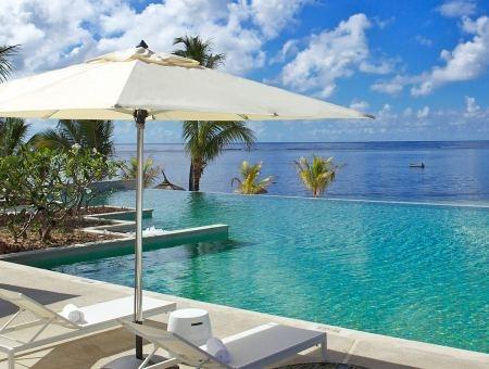 Infinity Pool at Long Beach, Mauritius