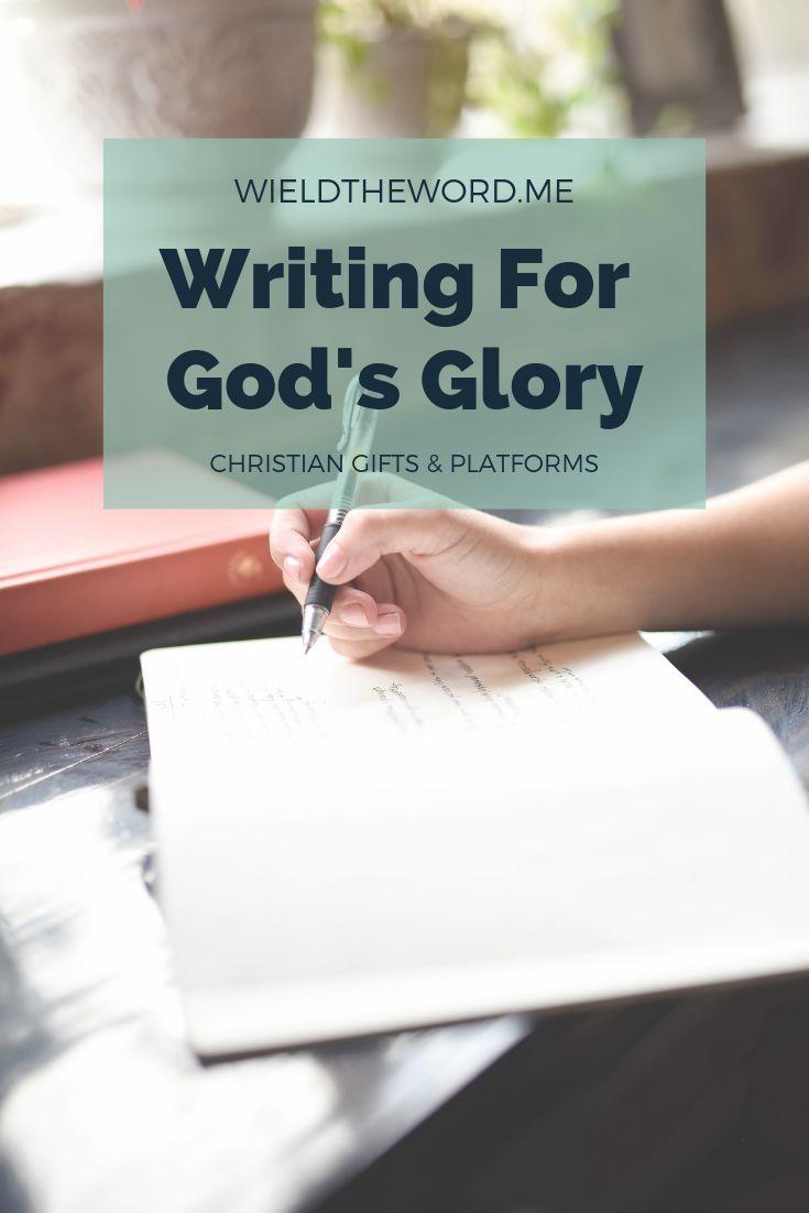 Est-il possible de poursuivre une plate-forme publique d'une manière qui glorifie Dieu …   – Christian Blogging Inspiration
