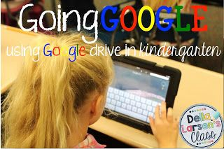 Using Google Drive with Kindergarteners