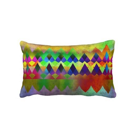 Campfire - by Greta Thorsdottir - Lumbar Pillow from Zazzle