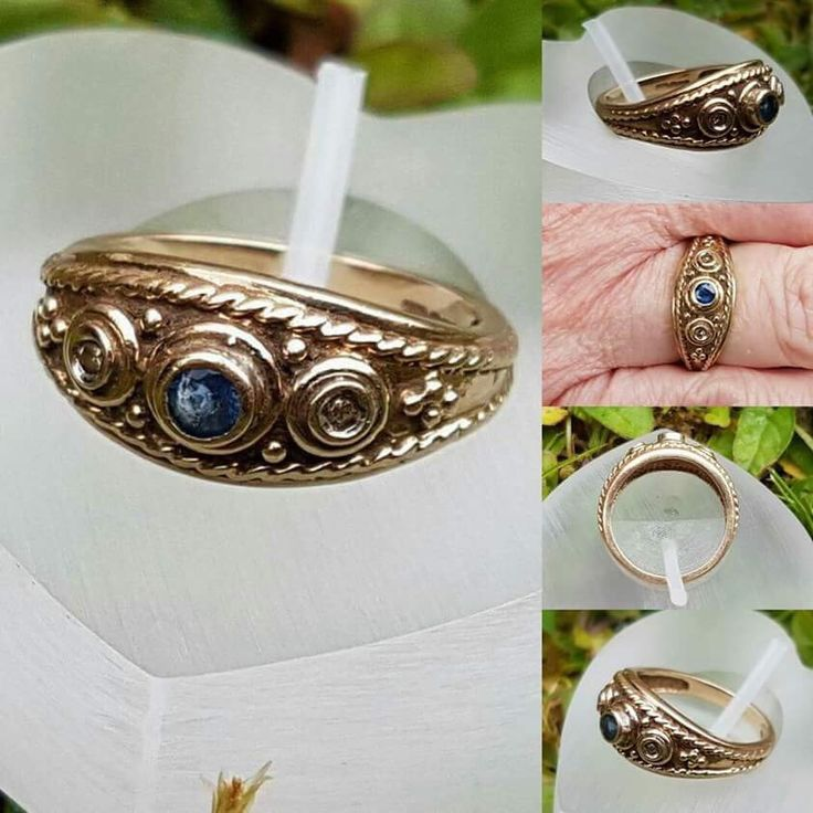 I'm really excited to share this Etruscan style ring with you, she a quality item. Do have a look.