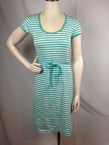 Tommy-Bahama-Breton-Stripe-Dress-Cabo-Teal-Size-M-8-10-MSRP-88-TB-2