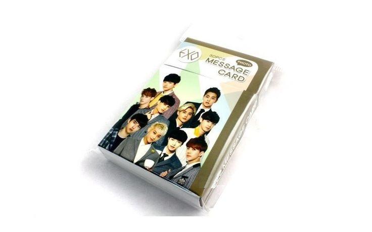 EXO Photo Message Card ( 30 Piece ) KPOP K-POP Korean K Pop