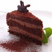 Торт «Прага» в шоколадной глазури