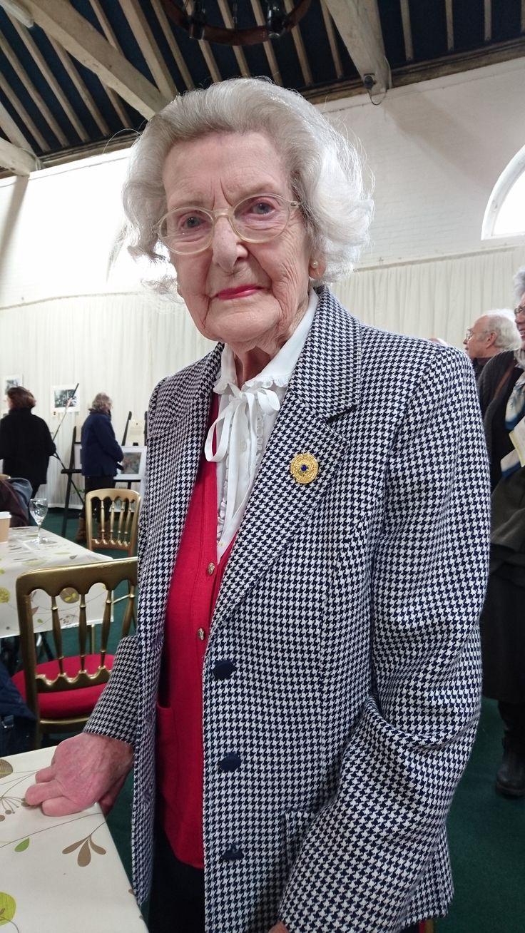 Mary Every, Bletchley Park veteran.