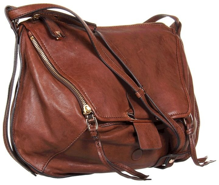 Leroy by Kooba: Bag envy! Has a nice, roomy kangaroo pouch in the front big enough for a tablet or a small camera. Soft leather! #Handbag #Kooba