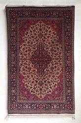 Wool and silk Qum carpet 1.67M x 1.07M