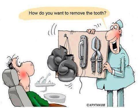 How do you want your tooth removed and what does your dental plan cover?