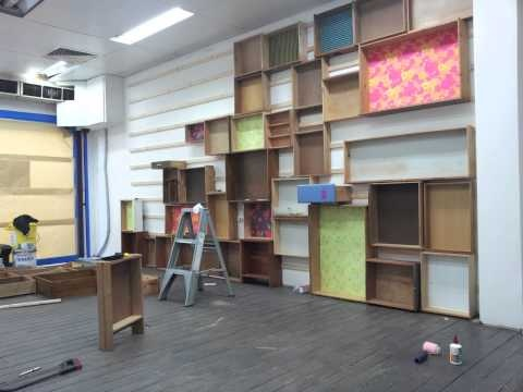 How awesome is this shelving idea from our retailer, flower child. Upcycling old shelves and draws - http://youtu.be/xQeRDmXGYbw