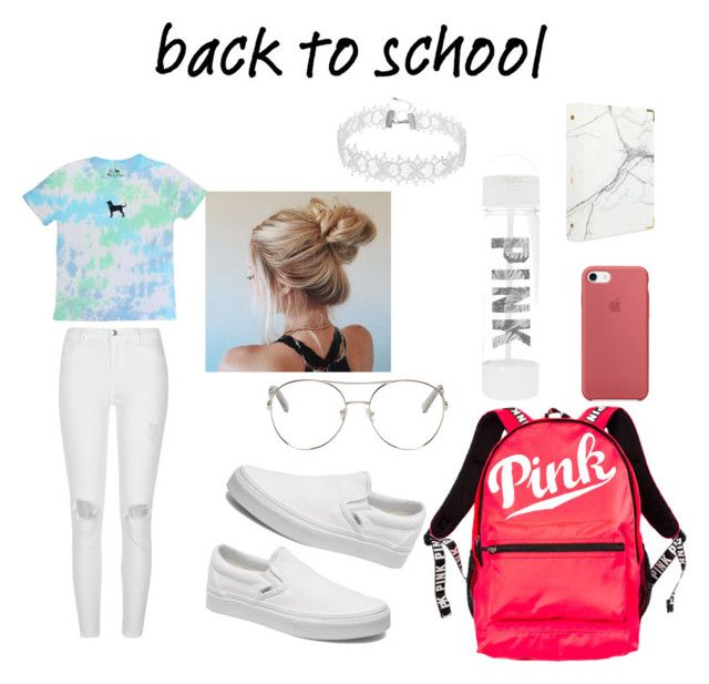 """""""Untitled #3"""" by izzyvb on Polyvore featuring River Island, Vans, Chloé, Victoria's Secret and russell+hazel"""