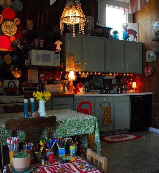 LOVE THE LIGHTS UNDER THE CUPBPARD -House Tour: Sam's Carriage House Meets Gypsy Caravan — San Francisco