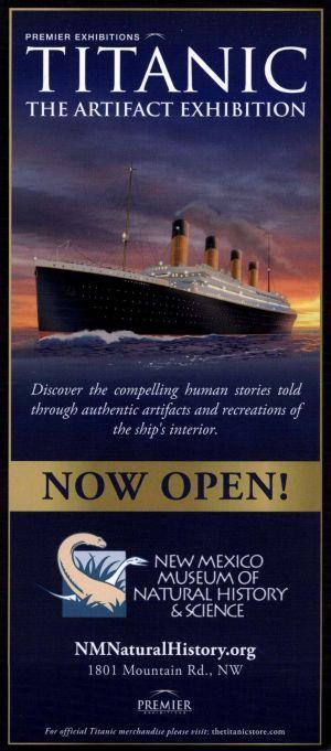 Natural History Museum Albuquerque Titanic