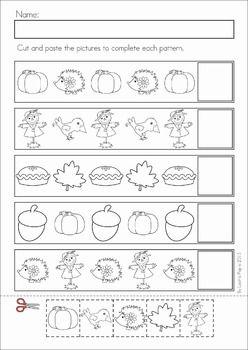 Kindergarten Math Patterns Worksheet Printable | Worksheets ...