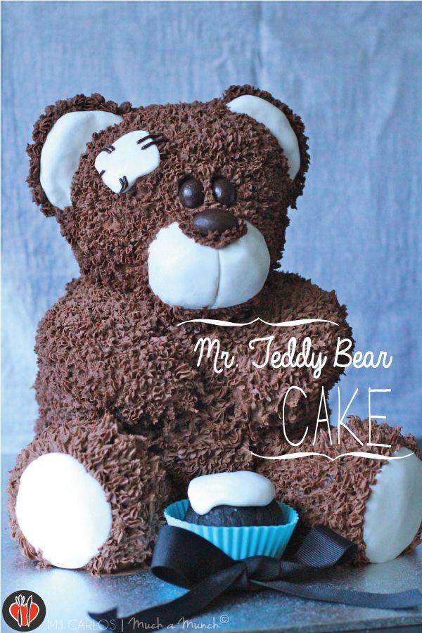How I made Mr. Teddy Bear Cake | Much a Munch