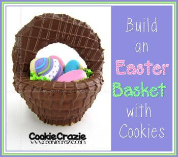 12 best easter cookies images on pinterest easter cookies easter 7 awesome ideas for easter cookie baskets that are easy enough to make at home negle Images