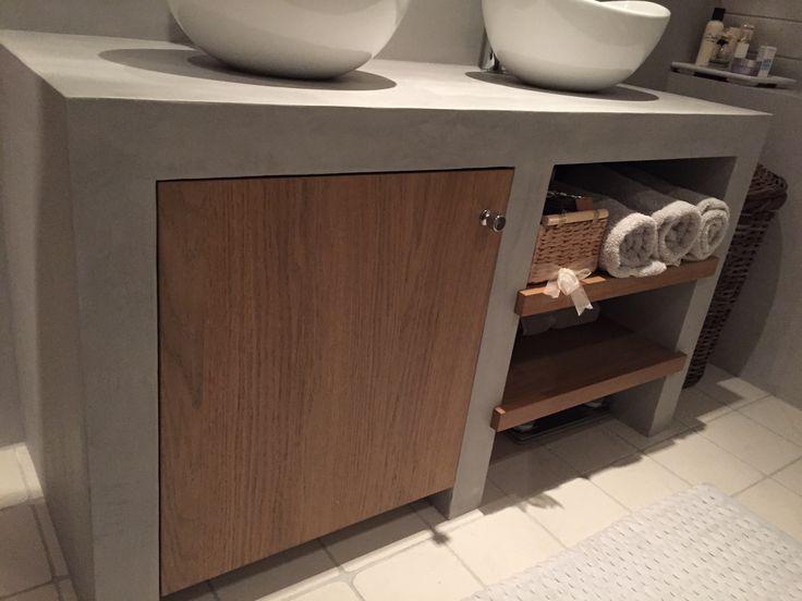 9 besten Project badkamer beton ciré Bilder auf Pinterest