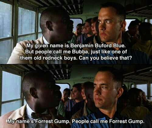 Forrest gump self discovery