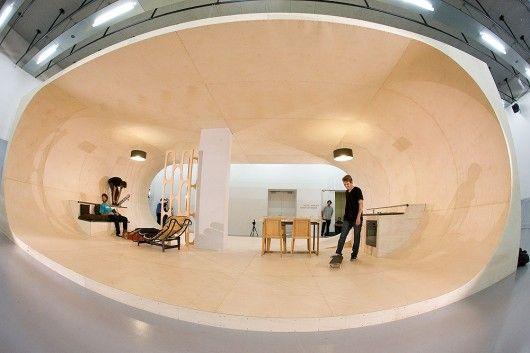 skateboard ramp room: Unusual Home, Skating Parks, Living Rooms, Dreams Houses, Dreams Rooms, Home Design, Malibu California, Houses Design, Pas Houses