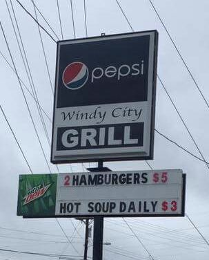 "A Landmark in Hickory, NC:  The Windy City Grill has been a staple for many years. Also known as ""Homer`s"" to many locals and students at nearby Lenoir-Rhyne University."